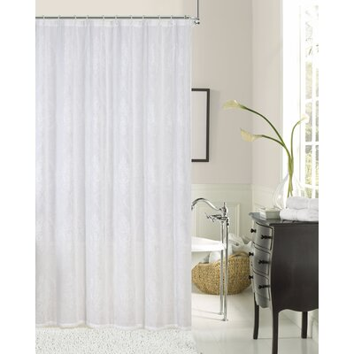 Traeger Embroidered Shower Curtain
