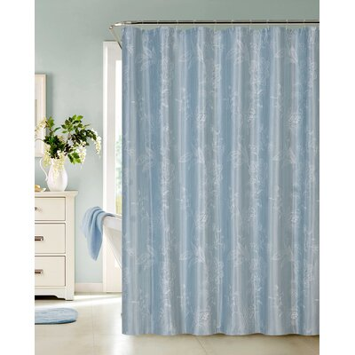 Dominique Embroidered Shower Curtain