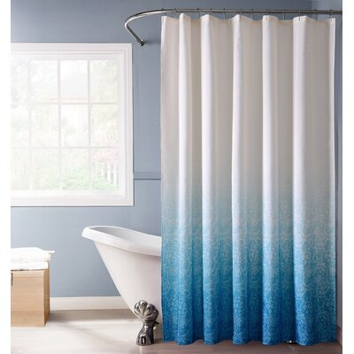 Arushi Shower Curtain Color: Blue