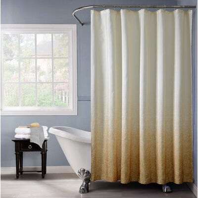Arushi Shower Curtain Color: Gold