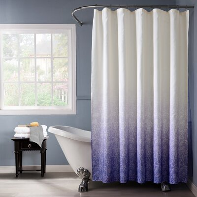 Arushi Shower Curtain Color: Lilac