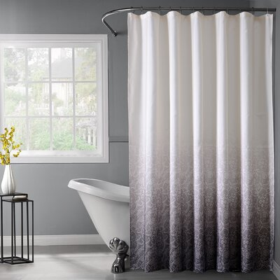 Arushi Shower Curtain Color: Silver