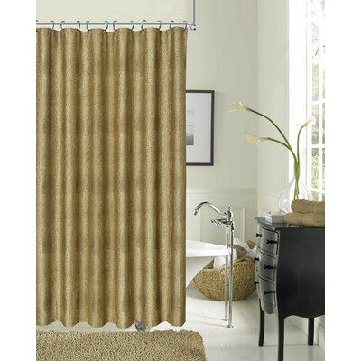 Drury Textured Shower Curtain Color: Bronze