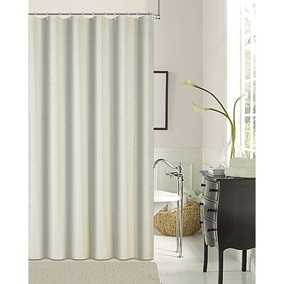 Kingston Shower Curtain Color: Ivory