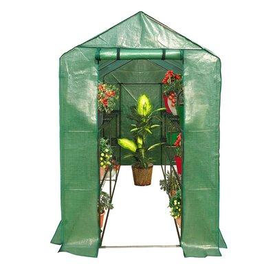 6.25 Ft. W x 4.08 Ft. D Greenhouse