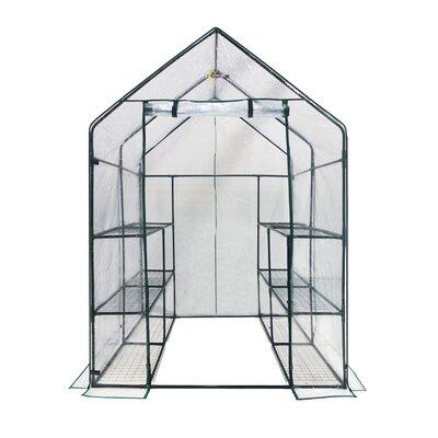 4.5 Ft. W x 4.5 Ft. D Greenhouse