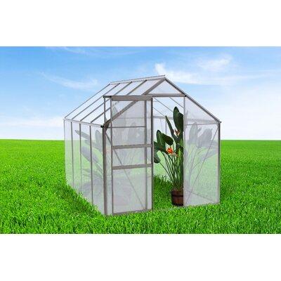 6.3 Ft. W x 8.4 Ft. D Greenhouse