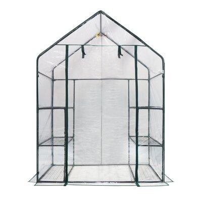4.5 Ft. W x 2.5 Ft. D Greenhouse