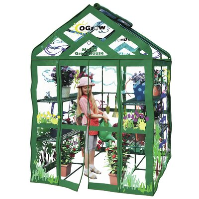 My First Kids 4.7 Ft. W x 4.7 Ft. D Greenhouse