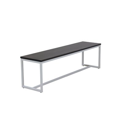 Port Wood Bench Color: Onyx