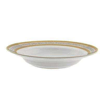 Ten Strawberry Street Elegance 8 Oz. Rim Soup Bowl