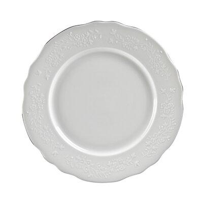 "Ten Strawberry Street Vine Silver 11"" Dinner Plate"