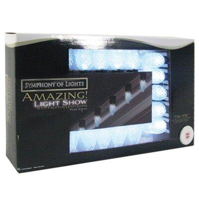 15 Light LED Chasing Lights Bulb Color: Pure White