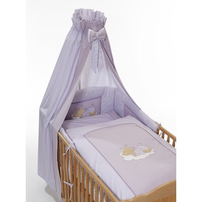 easy baby 4-tlg. Babybettwäsche-Set Sleeping Bear