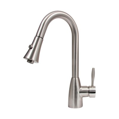 Platinum Series Pull Out Single Handle Kitchen Faucet