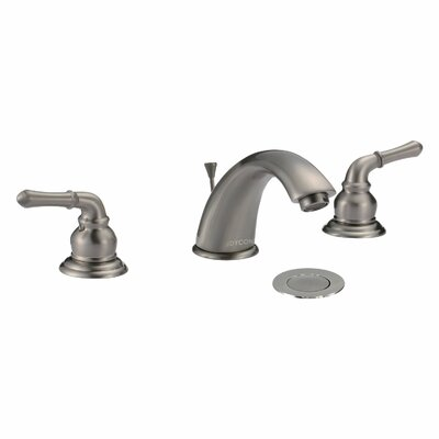 Dyconn Faucet Fawn Double Handle Widespread Bathroom Faucet with Pop-up Drain