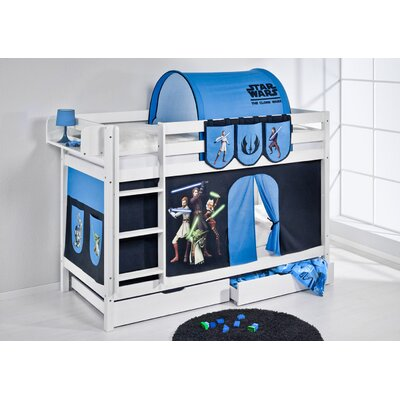 Lilokids Etagenbett Jelle Star Wars The Clone Wars, 90 x 200 cm