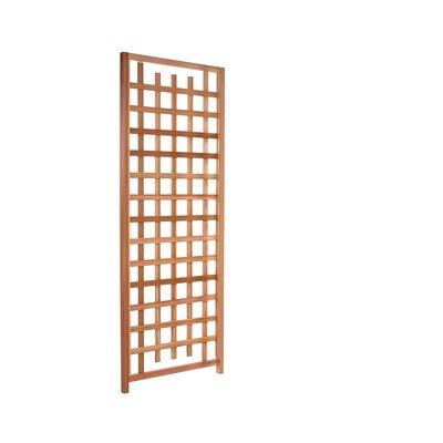 Western Red Cedar Lattice Panel Trellis