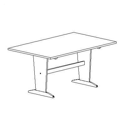"72"" x 48"" Rectangular Activity Table"