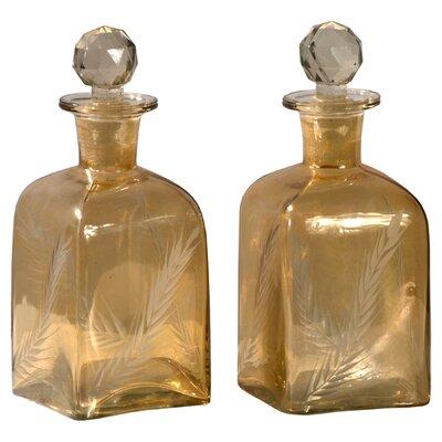 DUSX Iris 0.4L Perfume Bottle in Gold