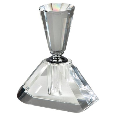 DUSX Zoe 18cm Perfume Bottle in Clear