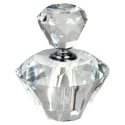 DUSX Roselle 16cm Perfume Bottle in Clear