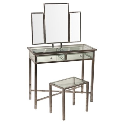 DUSX Eve Vanity Dessing Table and Mirror