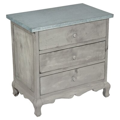 DUSX 3 Drawer Chest of Drawers
