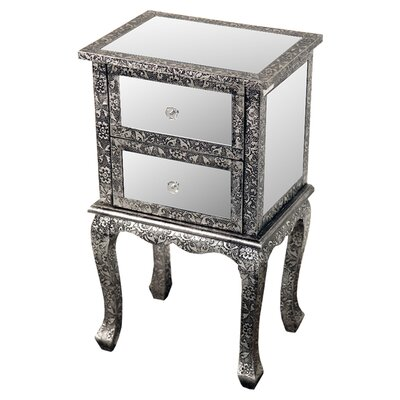 DUSX 2 Drawer Bedside Table