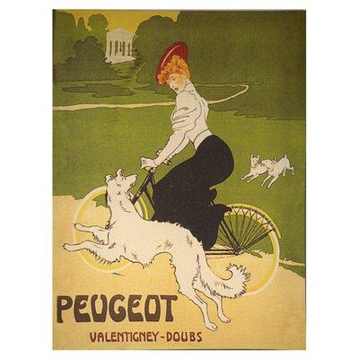 DUSX Peugeot Graphic Art on Canvas