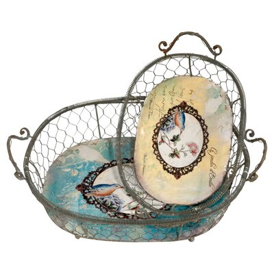 DUSX Jardin 2 Piece Basket Set