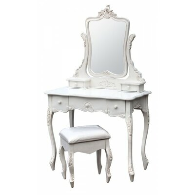 DUSX Estelle Dressing Table and Stool
