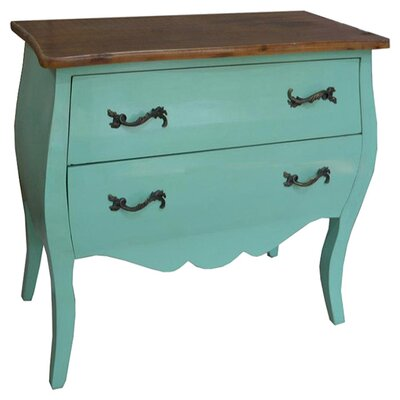 DUSX Juliette 2 Drawer Chest of Drawers