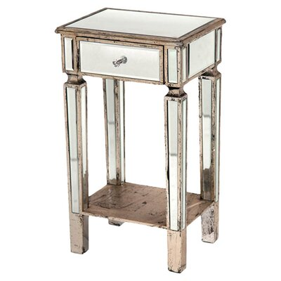 DUSX Henrietta 1 Drawer Bedside Table