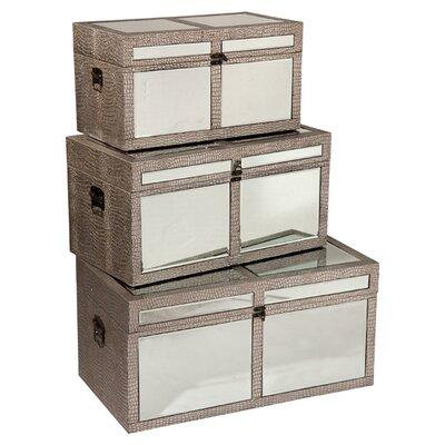 DUSX Tania 3 Piece Storage Box Set