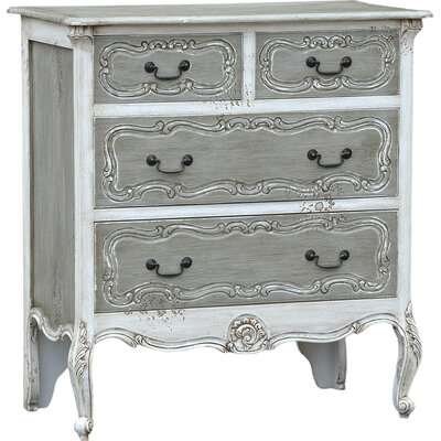 DUSX Bella 4 Drawer Chest of Drawers