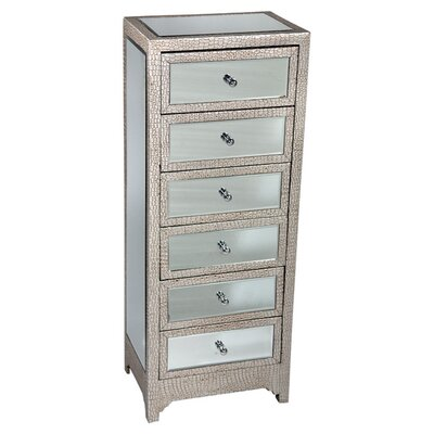 DUSX Tania 6 Drawer Chest of Drawers