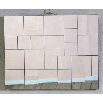 DUSX Venetian Contemporary Tessellated Mirror