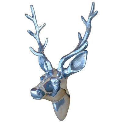 DUSX Aluminium Deer Head Wall Décor