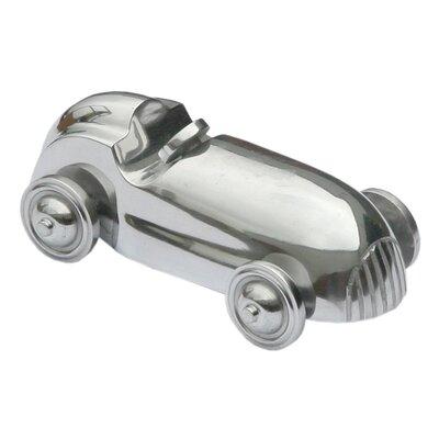 DUSX Aluminium Car with Steering Wheel Sculpture