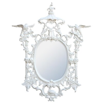 DUSX Wood Hand Carved Mirror