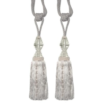 DUSX Tassel with Crystal Tier Curtain
