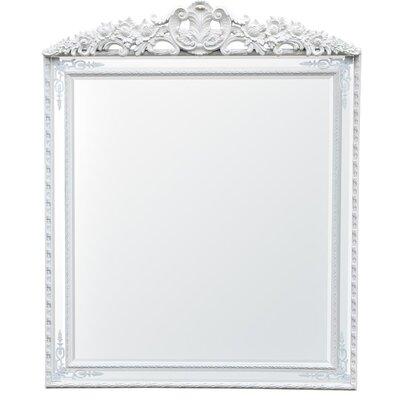 DUSX Pin Cushion Rectangular Inlay Mirror with Crown