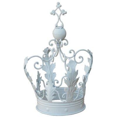 DUSX Iron Decorative Crown Sculpture