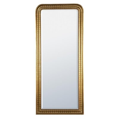 DUSX Louis Philippe Etched Beveled Mirror