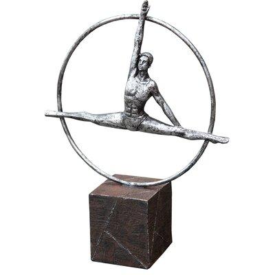DUSX Art Deco Gymnast Figurine