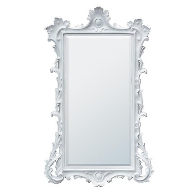DUSX Painted Frame Beveled Mirror