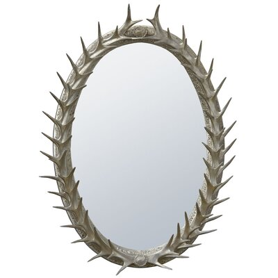 DUSX Antler Frame Beveled Mirror