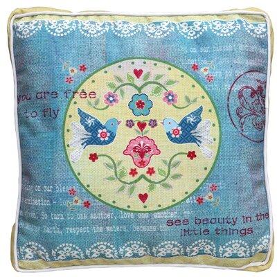 DUSX Vintage Love Birds Scatter Cushion