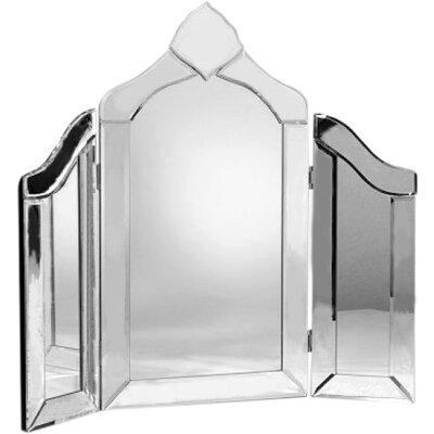 DUSX Venetian Crowned Top Dresser Mirror